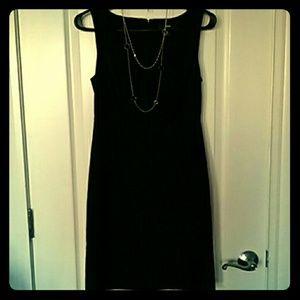 Classy little black dress size 2